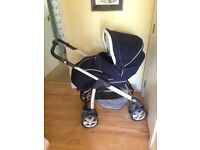 Silvercross Travel System / Sleepover Pram