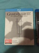 Game Of Thrones Seasons 3 & 4 Blu Ray 1080p Tullamarine Hume Area Preview