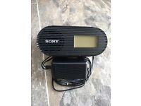 Sony Radio Alarm Clock with IPhone dock