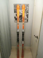 Volkl P 40 Downhill Skis 188cm With Marker Bindings