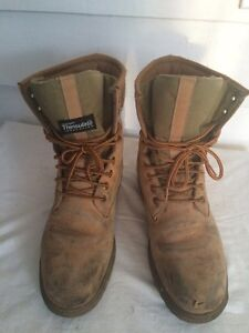 Men's Thinsulate KODIAK CONSTRUCTION BOOTS SIZE 9 Cornwall Ontario image 1