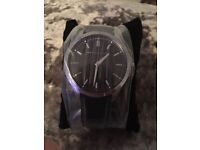Black Armani Exchange Watch