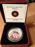 2010 Water Lily Coin