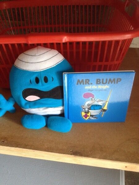 Talking mr bump and book