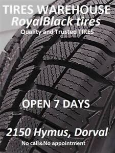 TIRES CRAZY SALE**205/55/16-299$txin4tires ** 2150 Hymus, Dorval
