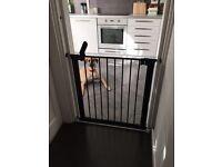 Brand new black baby gate