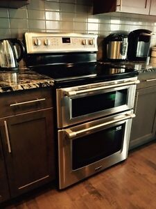 Maytag  Double Oven Convection Electric Range (Stainless Steel)