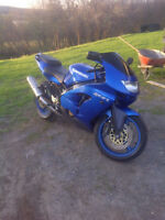 ZX9R SPORT BIKE TRADE FOR DIRT BIKE