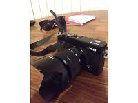 Fujifilm X-e1 with XC 16-50mm lens