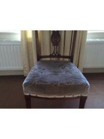 Pretty wooden chair free