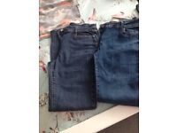 4 pairs of jeans £6
