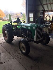 1967 Oliver 550 runs very well Bush hog included London Ontario image 8