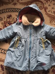 Deux par Deux girl's long winter coat 2T. AVAILABLE