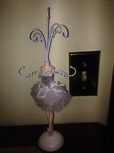 New Girls Ballerina Jewelry Holder