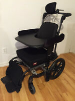 Wheelchair - Fuze T20 with accessories for sale