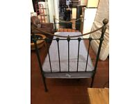 Single bed with mattres complete in excellent condition can delivery free local