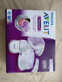 AVENT Electronic Comfor Pump plus milk pots
