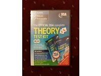 The OFFICIAL DSA complete Theory Test Kit and Hazard Perception DVD-ROMs