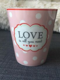Krasilnikoff Happy Mug Love is all you need NEW