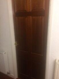 Varnished internal doors