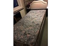 Silent night mattress and bed
