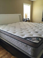 King size mattress for sale! Only few months old! Like new!
