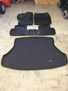2015 Honda Civic Coupe - WeatherTech Mats - with Trunk tray