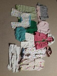 new born - 12 months clothes (girls)