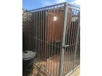 For sale dog run galvanised steel