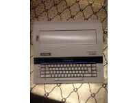 Portable Smith Corona Electric Typewriter Fully Working with Ink Good Condition Can Deliver