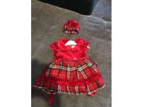 Beautiful baby girl dress-used only once