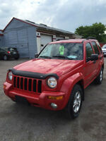 2004 JEEP LIBERTY LIMITED $4995 CERT/E-TESTED