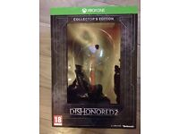 Dishonoured 2 collectors edition Xbox one