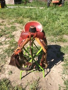 15.5 roper saddle for sale Strathcona County Edmonton Area image 1