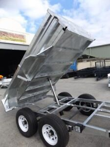 NOT IMPORT... NOT IMPORT.. 10X5 HOT DIPPED GALVANISED TIPPER!