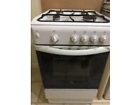 Indesit gas cooker 50cm