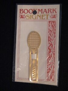 Gold Plated Bookmarks Signet London Ontario image 2