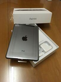 New apple iPad mini 2 wifi cellular warranty + receipt
