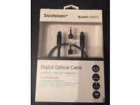 Digital Cable SANDSTORM AV Black Series S1OPT114X