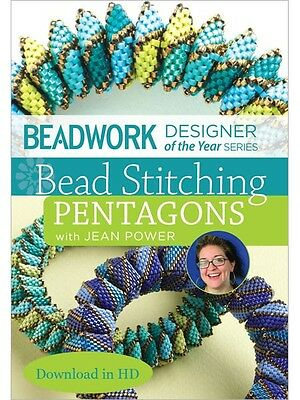 Bead Stitching Pentagons w/ Jean Power Beadwork DVD workshop
