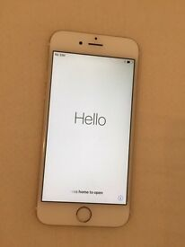 iPhone 6. White and Gold. 16gb. Unlocked.