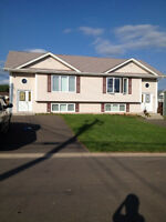 Semi detached, one side duplex for sale in Moncton NB