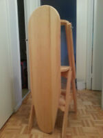 wooden ironing board (can be used as stair-steps)