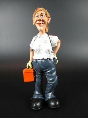 Sanitäterin Paramedic Sanitär Funny,16 cm,Beruf Profession Figuren Kollektion