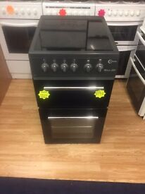 ***Black Flavel 50cm ceramic top cooker***Free Delivery**Fitting**Removal