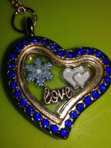 Beautiful Heart Locket with Charms
