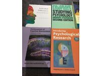 Bundle of psychology textbooks