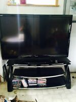 60 inch tv plus stand for sale