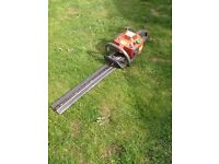 HUSQVARNA ETECH 225H,60 PETROL HEDGE CUTTER WORKS GREAT CAN BE SEEN WORKING CB5 £160