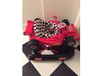 Baby Walker - Racing Car